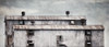 Old cold tin clad building (David DeCamp) Tags: architecture window old structure building dirty industry urban weathered sky texture nikond300 nikon200mmaisf40