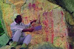 DSC05185 - BONGANI Spot 2_yxx (HerryB) Tags: 2017 southafrica afrique afrika sar sonyalpha77 sonyalpha99 tamron alpha bechen fotos photos photography sony herryb mpumalanga rockart rockpaintings peintres rupestres san zeichnungen höhlenmalerei paintings bushmen buschmänner dstretch harman jon jonharman enhance falschfarben restauration bongani lodge mountain bonganimountainlodge spot2