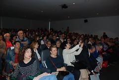 La profesora de Historia Vicenta Fernández asistió al estreno. (almeriainformacion) Tags: cine documental la fosa borrada del sur memoria histórica almería museo de