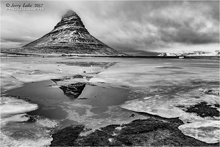 Mountain reflections - Kirkjufell Iceland {Explore}