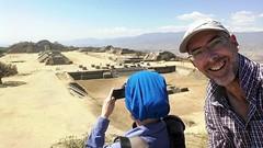 Us as Monte Alban [Oaxaca / Mexico] (babakotoeu) Tags: mexico travel reizen holiday monte alban zapotec oaxaca