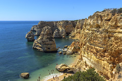 Praia da Marinha 234 (_Rjc9666_) Tags: algarve beach coastline colors landscape nikond5100 portugal praia praiadamarinha sea seascape sky tokina1224dx2 ©ruijorge9666 lagoa farodistrict pt 1771 234