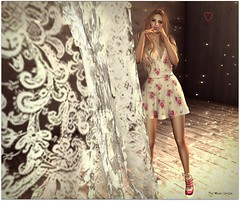 It's there (Moni Carissa) Tags: fitmeshdesignerexpose vip creations dress maitreya flowers heels lelutka nove 7deadlyskins theblackstylefair noor shape truthhair andika poses amore mio luanes world photography blond sale summer