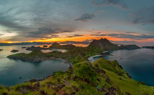 Padar Island Sunset - Komodo National Park