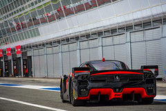 Coming back to the box. (David Clemente Photography) Tags: ferrari ferrarifxx fxx supercars racecars hypercars ferrarienzo enzo enzoferrari cars v12 autodromomonza xxprogramme automotivephotography nikonphotography