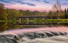 Persley Bridge.jpg (___INFINITY___) Tags: 6d aberdeen bridge don persleybridge cloudy river canon clouds colour darrenwright dazza1040 eos infinity longexposure scotland sunset persleybridgecloudy