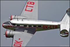 Lockheed L-10A Electra OK-CTB (Pavel Vanka) Tags: lockheed l10a electra okctb l10 twin twinmotor warbird propeller passengerplane plane airplane aircraft airshow czechrepublic czech bata planes plasy lkps dayintheair