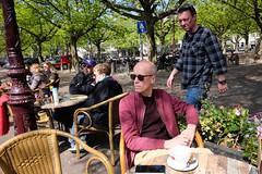 DSCF2276.jpg (amsfrank) Tags: candid amsterdam rivierenbuurt prinsengracht marcella cafe bar marcellas terras sun people tourists