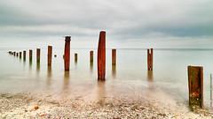Seascape Island Helgoland Germany