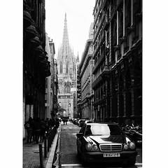 ⛪️ #photographyaks_bw #photooftheday #wanderlust #2016 #barcelona #mercedes (.Tatiana.) Tags: instagramapp square squareformat iphoneography uploaded:by=instagram lofi