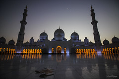 Sheikh Zayed Mosque at night (The Odyssey Experience) Tags: nightphotography uae abudhabi travel sheikhzayedmosque