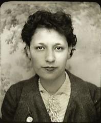 Mom's Mom (backbeatb00gie) Tags: 1935 desmoines family geneology grandmother iowa june07 kathrynelizabethmoyer portrait epson700 scan