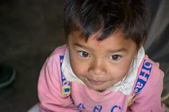 Sleepy toddler, very early morning at Sarangkot (suebunnybungard) Tags: sarangkot nepal