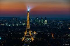 Paris (roby rx) Tags: paris parigi francia france torreeiffel notte tramonto