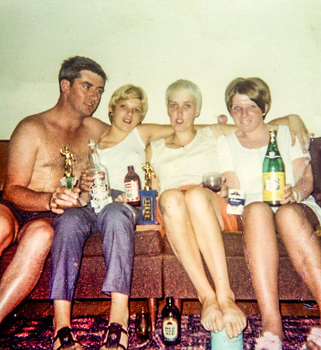 Finnigan family on Couch 1960s