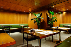 Inside the restaurant (A. Wee) Tags: thepier firstclass airport lounge hkg hongkong 国泰航空 香港 机场 中国 china cathaypacific restaurant 餐厅