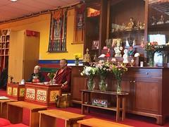 2017 Apr Khenpo Ugyen Tenzin visit