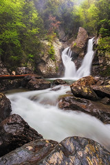 Bash Bish Falls, Massachusetts (pvarney3) Tags: basbishfalls newyork massachusetts waterfalls water newengland storm may landscape