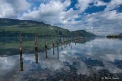 Eau fraiche (Pierrotg2g) Tags: lac lake water eau aixlesbains savoie nature paysage landscape reflets reflection nikon d90 tokina 1228 nuages clouds