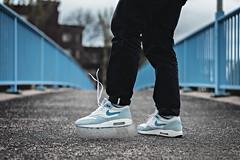 """Nike Air Max 1 """"Pale Blue 03"""" (b_represent) Tags: nike nikeairmax nikeairmax1 airmax airmax1 airmax87 paleblue sneaker sneakers"""