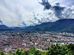 Grenoble ~ #Grenoble #RhôneAlps #clouds (Ben Moeller-Gaa) Tags: grenoble rhônealps