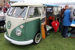 VW Microbus (Badly Drawn Dad) Tags: gbr ludlow shropshire unitedkingdom ludlowcastle ludlowspringfestival geo:lat=5236709542 volkswagen geo:lon=272278382 geotagged