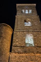 Castellabate, il campanile - Castellabate, the bell tower (58lilu58) Tags: architettura architecture campanile belltower night notte canon canon760d