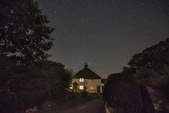 North Bovey 10 (Anna_Walls) Tags: churchcottage dartmoor devon night northbovey places stars timesofday