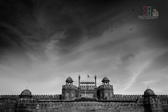 Redfort (SathisBabu) Tags: sathisbabuphotography sathisbabu sathisbabum msbabu msbabuclicks redfort india incredible blackwhite delhi architecture
