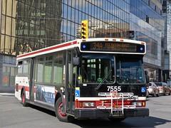 Toronto Transit Commission 7555 (YT | transport photography) Tags: ttc orion vii 7 bus toronto transit commission