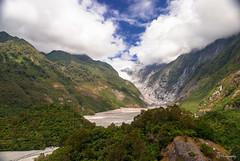 How can I get through (.KiLTRo.) Tags: westlandnationalpark westcoast newzealand kiltro montaña mountain paisaje landscape clouds sky range franzjosefglacier glacier ice river nature