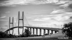Sidney Lanier Bridge (The Suss-Man (Mike)) Tags: bridge clouds georgia glynncounty jekyllisland lake lanierbridge pond sidneylanierbridge sky sonyilca77m2 sussmanimaging thesussman water