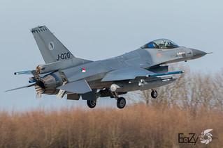 J-020 Royal Netherlands Air Force Lockheed Martin F-16AM Fighting Falcon