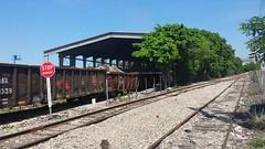 CSX Rail Cars Loading Scrap Metal on the S line Downtown Spur. Miami, Florida  Video: YouTube.com/RailROL82 (#RailROL82) Tags: csx csxtrains railcars railroad miami florida sline downtown spur
