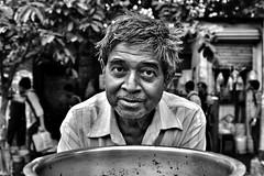 Sweet eyes (paola ambrosecchia) Tags: bnw bw kolkata blackandwhite monochrome street portrait face eyes india asia portraitmood ritratto beautiful
