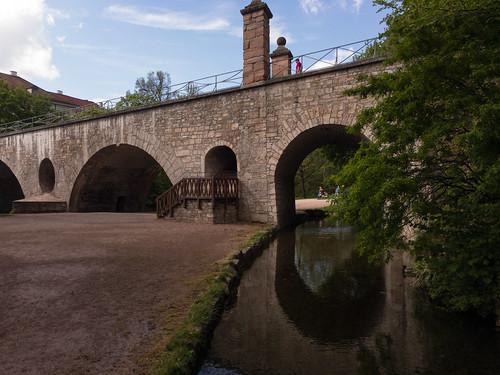 Sternbrücke Fußgängeraufgang
