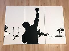 Rocky - Pop Art - XXL MOVIE Artwork (pop-art-world_de) Tags: rocky rockybalboa film dvd movie rocky3 kampf boxen popart leinwand kunstwerk gemälde poster popartportrait schwarzweis acrylleinwand acryl acrylmalerei acrylbilder wallpaper italian stallion italianstallion