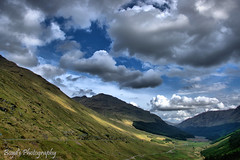 DSC_0047 -1awm (Polleepops) Tags: argyll lochlomond lochs clouds cloudporn bridges river water hills landscape