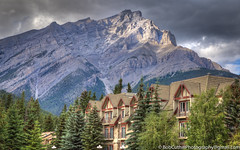 Living in Banff Alberta (westrock-bob) Tags: livingintheshadow pine peaceful rockymountains nationalpark ab cuthill canon town park trees banffnationalpark majestic copyright touristdestination condo mountainliving alberta 6d outdoors canada eos apartment banff mountain