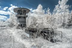 station (Ke_Si) Tags: wärterhaus infrared infrarot lostplace urbex urbanexploration decay abandoned verlassen 720nm canon eos 5d