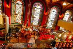 Jopen roof (Marcelo Campi Amateur photographer) Tags: beer windows glass holland red urbanexploration lights dark bar