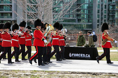 Canadian Forces (Can Pac Swire (away for a bit)) Tags: toronto ontario canada canadian forces armed army fortyork national historic site reenactment worldwar one 1 i wwi great war 1917 battle vimyridge 2017 100th 100 anniversary centenary remembrance 2017aimg7816 military band