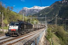 MRCE: 189 113-4 (Pascal Hartmann Photography) Tags: lalden wallis schweiz ch transrail mrce 189 es64f4 1134 biodiesel trainspotting 48686