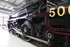 Black 5 number 5000 (372Paul) Tags: nrm shildon nationalrailwaymuseum steam diesel electric e5001 class71 deltic lner emu 2hap black5 5000 sanspareil apt advancedpassengertrain