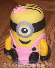 Little Minion Smash Cake (TheCakeCreative) Tags: cake cakedecorating cakedesign buttercream buttercreamicing fondant rolledfondant marshmallowfondant minion minioncake fanart minions minionscake girlminion girlminioncake smashcake minionsmashcake