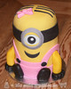 Little Minion Smash Cake