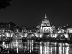 St Peter Basilica by Night (lvertel) Tags: canon sx60 amateur photography beautiful shot rome italy history