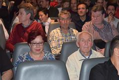 Mercedes Colomera y Alberto Álvarez, familiares de represaliados entrevistados en el documental. (almeriainformacion) Tags: cine documental la fosa borrada del sur memoria histórica almería museo de