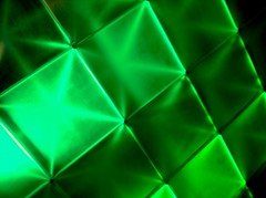 light tiles (ikarusmedia) Tags: light green acrylic stage panels