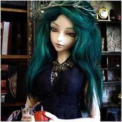 Whisp (Steampetal) Tags: witch feeple60 feeple sd13 breakaway bjd ball jointed doll fashion fairyland steampetal oracle herbalist luts costume